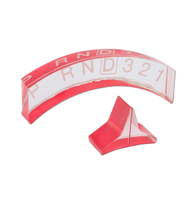 (1947-87) Acrylic Shift Indicator w/Pointer-4spd