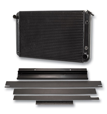 (1955-59)  * Radiator - Cross Flow - Standard Cooling