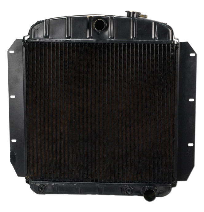 (1955-59)  * Radiator-Desert Cooler-Automatic Transmission