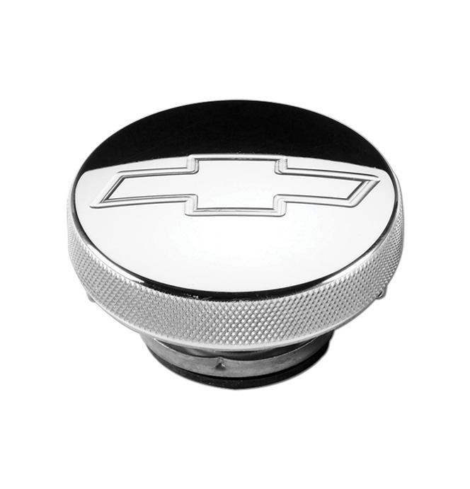 Billet Radiator Cap - Bowtie - 7lb
