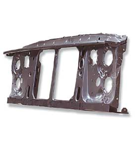 (1981-88)  *Radiator Support-Single Headlamps