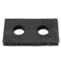 (1947-49)  Radiator Support Mounting Pad