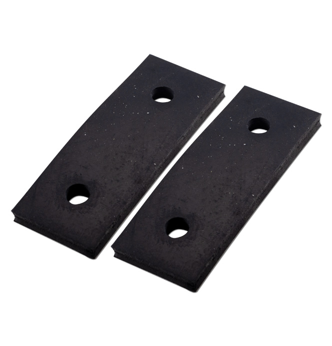 (1955-59)  Radiator Support Mounting Pads pr. GMC