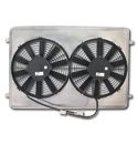 (1963-66)  * Electric Fan & Shroud - 6 cyl & V-8 - 11