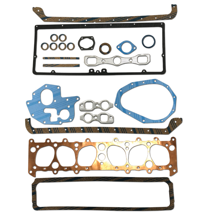 (1935-36)   Engine Gasket Set-207 CI