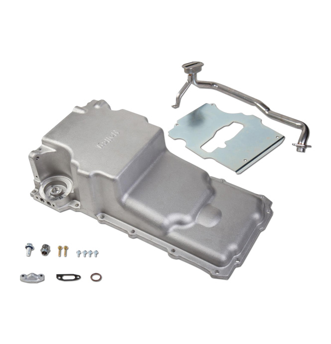 (1955-87) GM LS Retro-fit Oil Pan - Additional Clearance