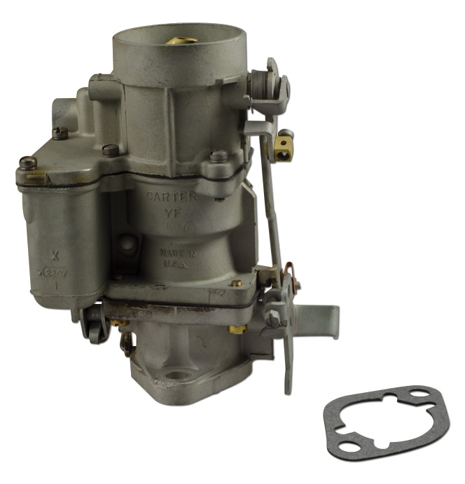 (1937-53)  Carburetor-Rebuilt Carter YF, 216*