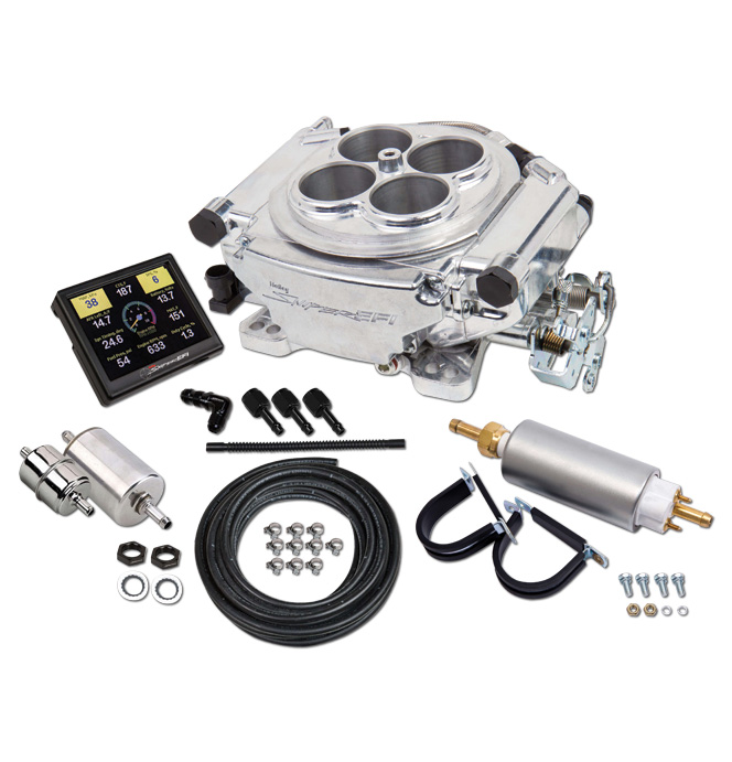 Holley Sniper EFI Self-Tuning Master Kit - Polished Finish