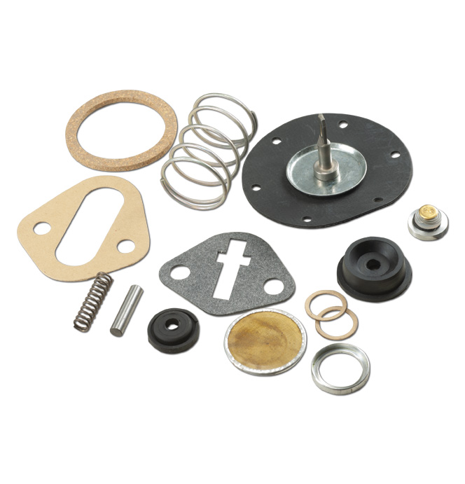 (1937-62)  Fuel Pump Rebuild Kit - 6cyl - Glass Top