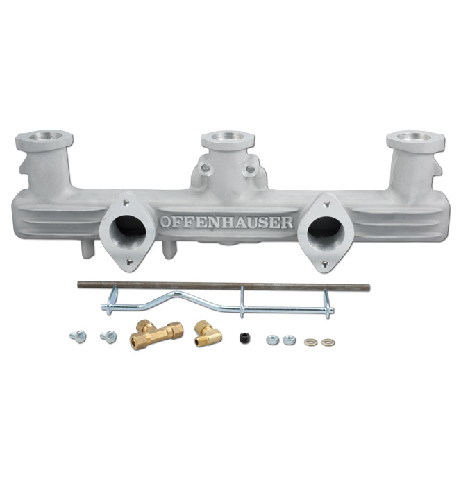 Offenhauser Dual Intake Manifold-Classic Chevy Truck Parts