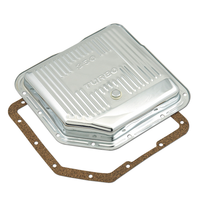 Chrome Transmission Oil Pan - TH350