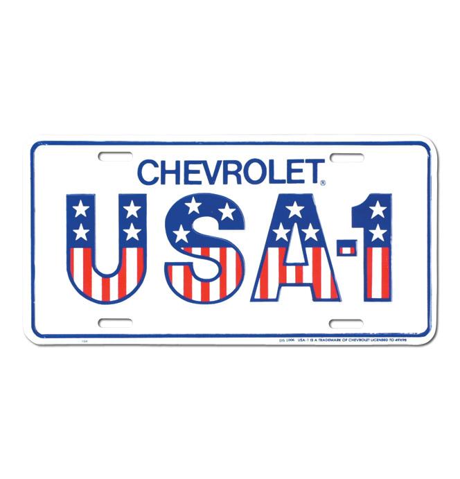 (1947-98)  License Plate-USA-1
