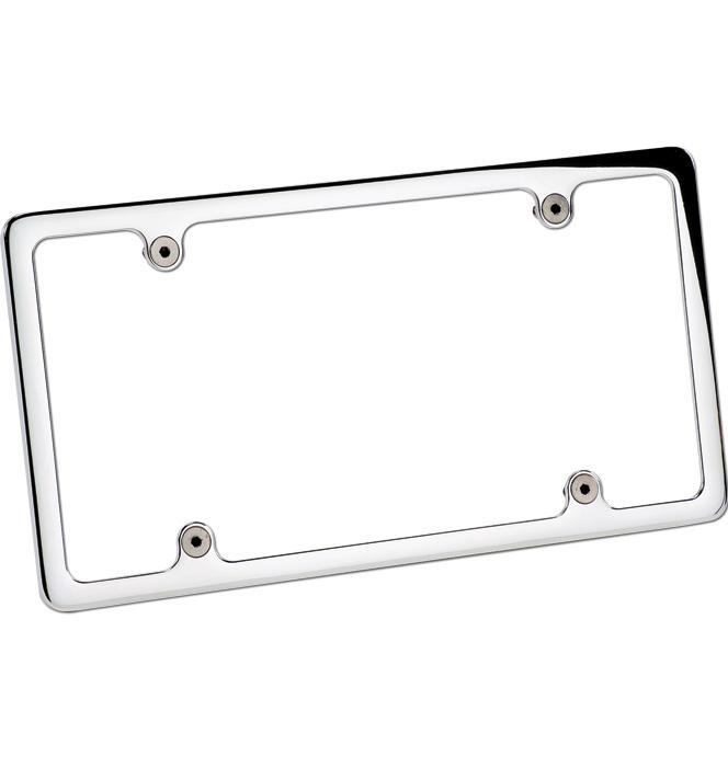 (1947-98) Billet License Frame - Plain