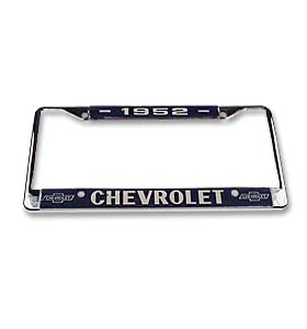 (1952)  License Plate Frame