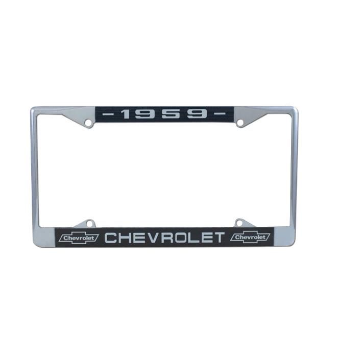 (1959)  License Plate Frame