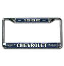 (1962)  License Plate Frame