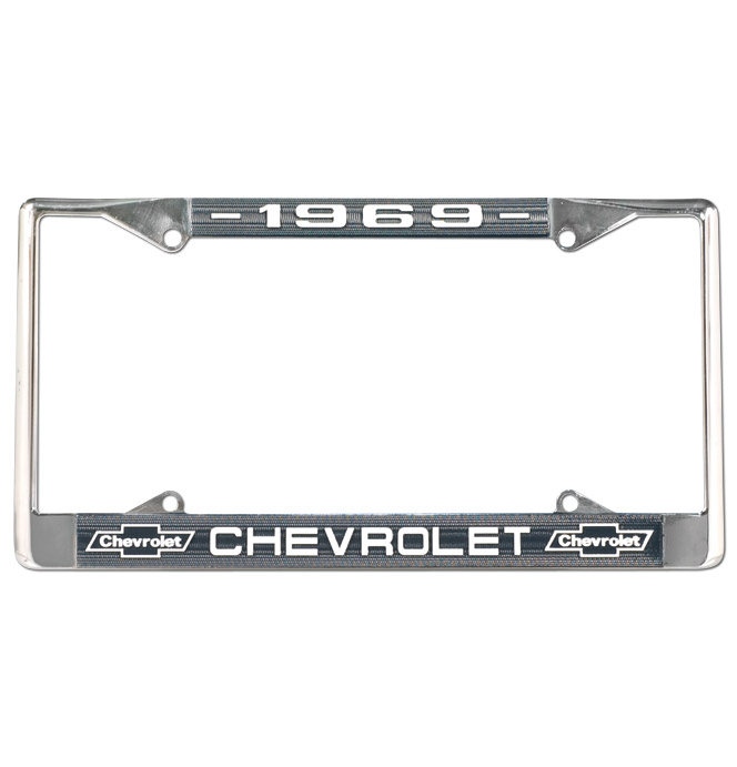 License Plate Frame-Classic Chevy Truck Parts