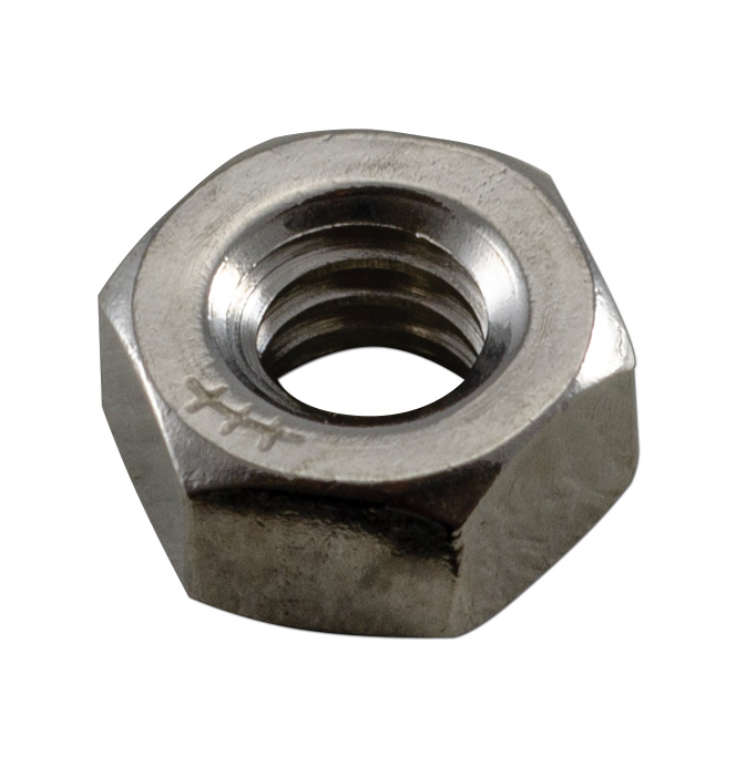 (1947-98)  Stainless Hex Nut-1/4-20