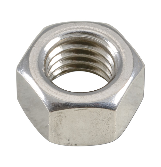 (1947-98)  Stainless Hex Nut-1/2-13