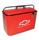 Vintage Chevrolet Cooler - Red