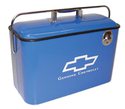 Vintage Chevrolet Cooler - Blue