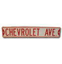 Street Sign - Chevrolet Avenue