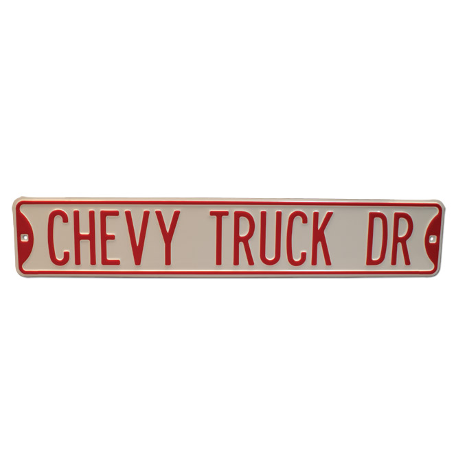 Street Sign - Chevy Truck Drive