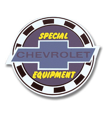 (1947-87)  3 Special Equipment Decal