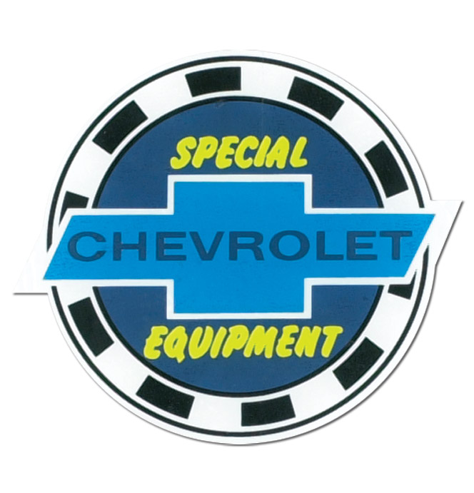 (1947-87)  5 Special Equipment Decal