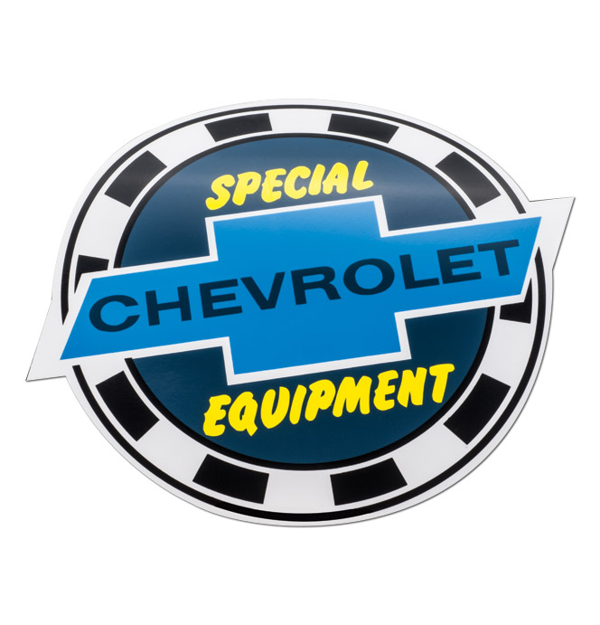 (1947-87)  8 Special Equipment Decal