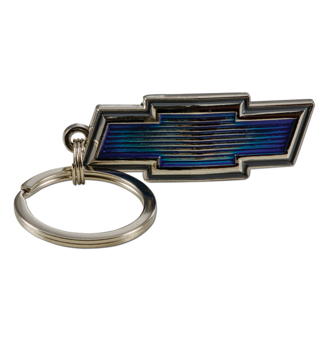 (1969-72) Key Chain - Chevrolet Bowtie Emblem