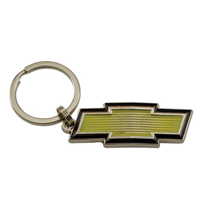 (1973-87) Key Chain - Chevrolet Bowtie Emblem