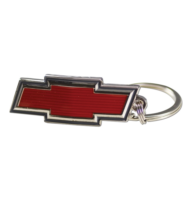 (1967-68) Key Chain - Chevrolet Bowtie Emblem