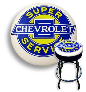 Shop Stool - Super Chevrolet Service