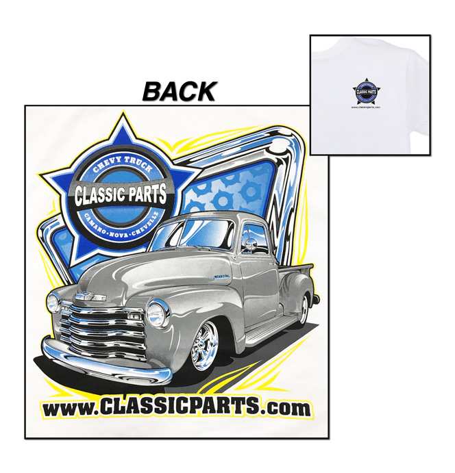 Classic Parts T-Shirt - New Design 1952 Chevy