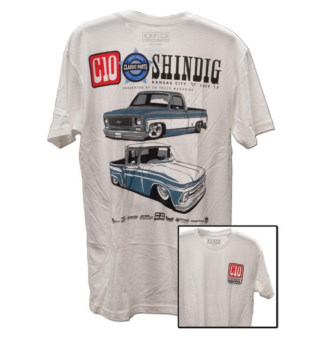 C10 Shindig 2021 Event T-Shirt - White