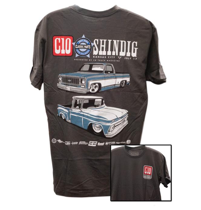 C10 Shindig 2021 Event T-Shirt - Gray
