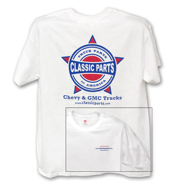 Classic Parts T-Shirt - White