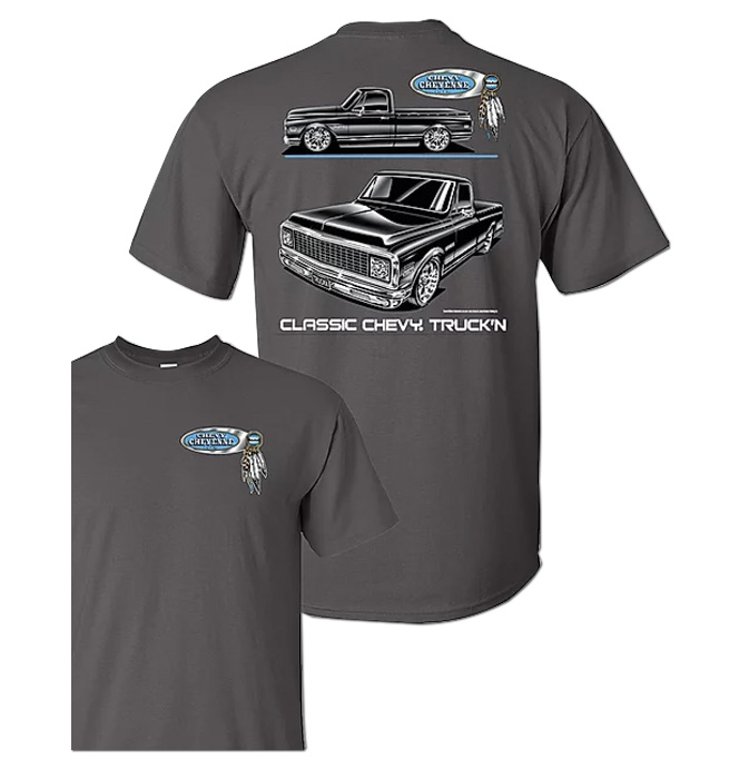 T-Shirt - Chevy Cheyenne Blackline
