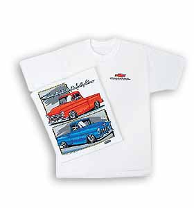 T-Shirt-55-57 Chevy Trucks