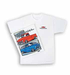 T-Shirt-55-57 Chevy Trucks