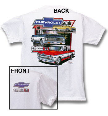 T-Shirt-Chevy Trucks