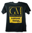 T-Shirt - Genuine Parts - Black