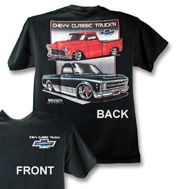 T-Shirt - Classic Truckin - Black