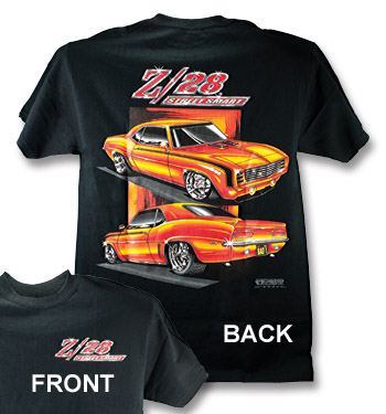 T-Shirt - Z28 Camaro Street Smart - Black