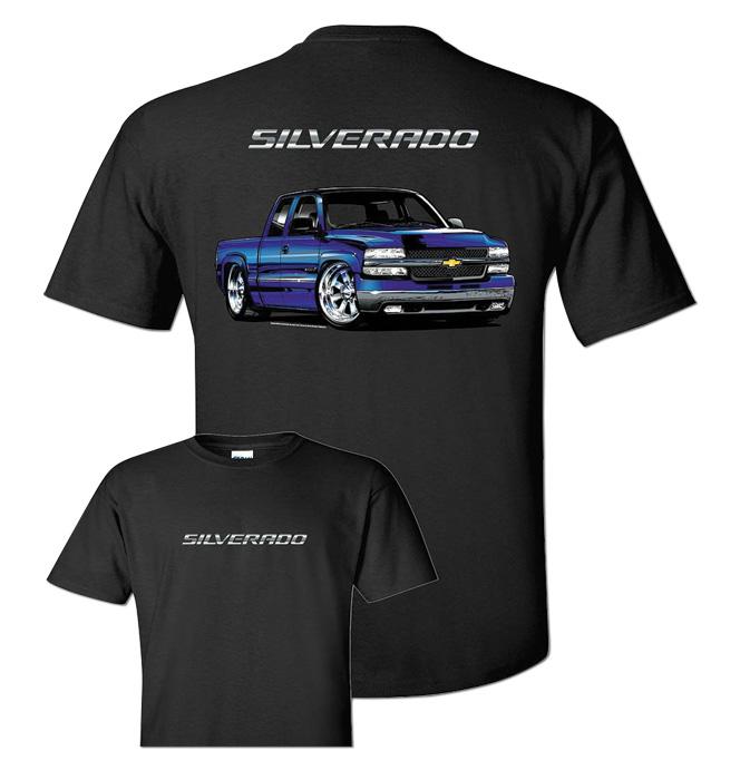 T-Shirt - T-Shirt - Silverado - Black