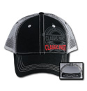 Hat - Classic Parts - Trucker Mesh - Black/White/Red