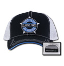 Hat - Classic Parts - Performance Mesh - Black/White/Blue