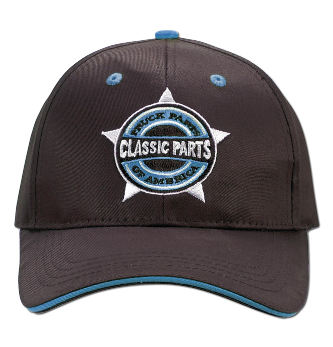 Hat - Classic Parts - Embroidered - Black/Blue