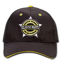 Hat - Classic Parts - Embroidered - Black/Yellow